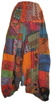 Beautiful funky patchwork harem trousers