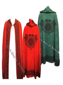 Pagan, hippy ritual reversible cloak