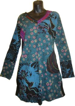 Gorgeous funky hippy pocket dress