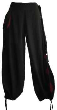 Hippy trousers ,two looks