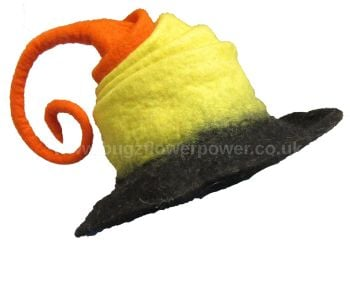 Two looks festival witchy fae felt hat