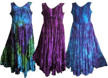 Lissie tie dye flowy dress
