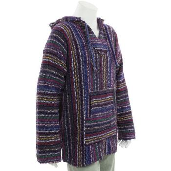 Mexican snuggly warm jerga or baja [purple mainly]