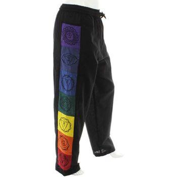 Chakra cotton trousers