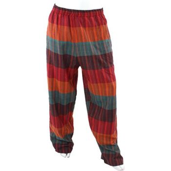 Hippy stripe trousers