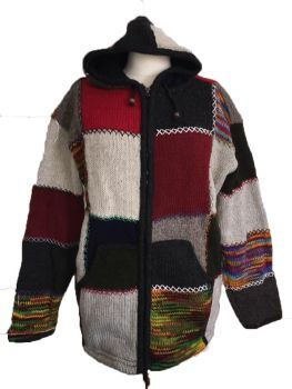 Fleece lined wool jacket  48-50 inches bust / chest