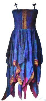 Beautiful silk Tianna faerie dress