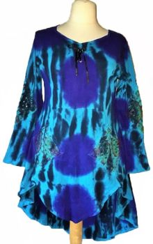 *Gorgeous Rhiann mirrored tie dye dress