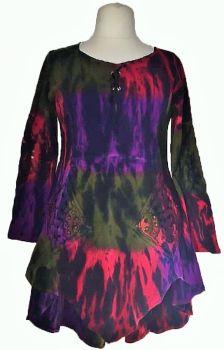 Gorgeous Rhiann tie dye dress