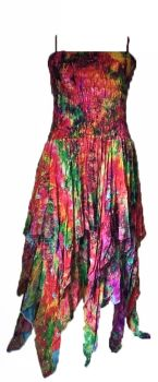 Beautiful silk sequin detail Tianna faerie dress plus size