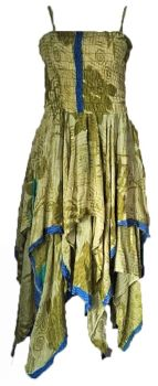 Beautiful silk  detailed Tianna faerie dress 12-16
