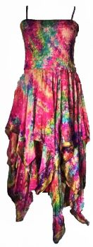 Beautiful silk  detailed Tianna faerie dress 10-14