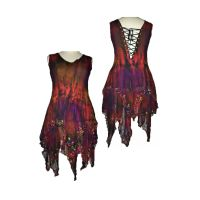 Elvina gorgeous corset back faerie dress