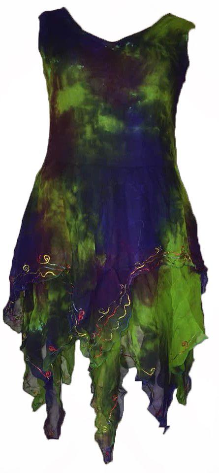Elvina gorgeous corset back faerie dress