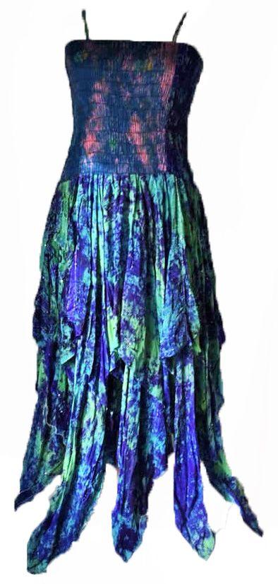 Beautiful silk sequin detail Tianna faerie dress plus size