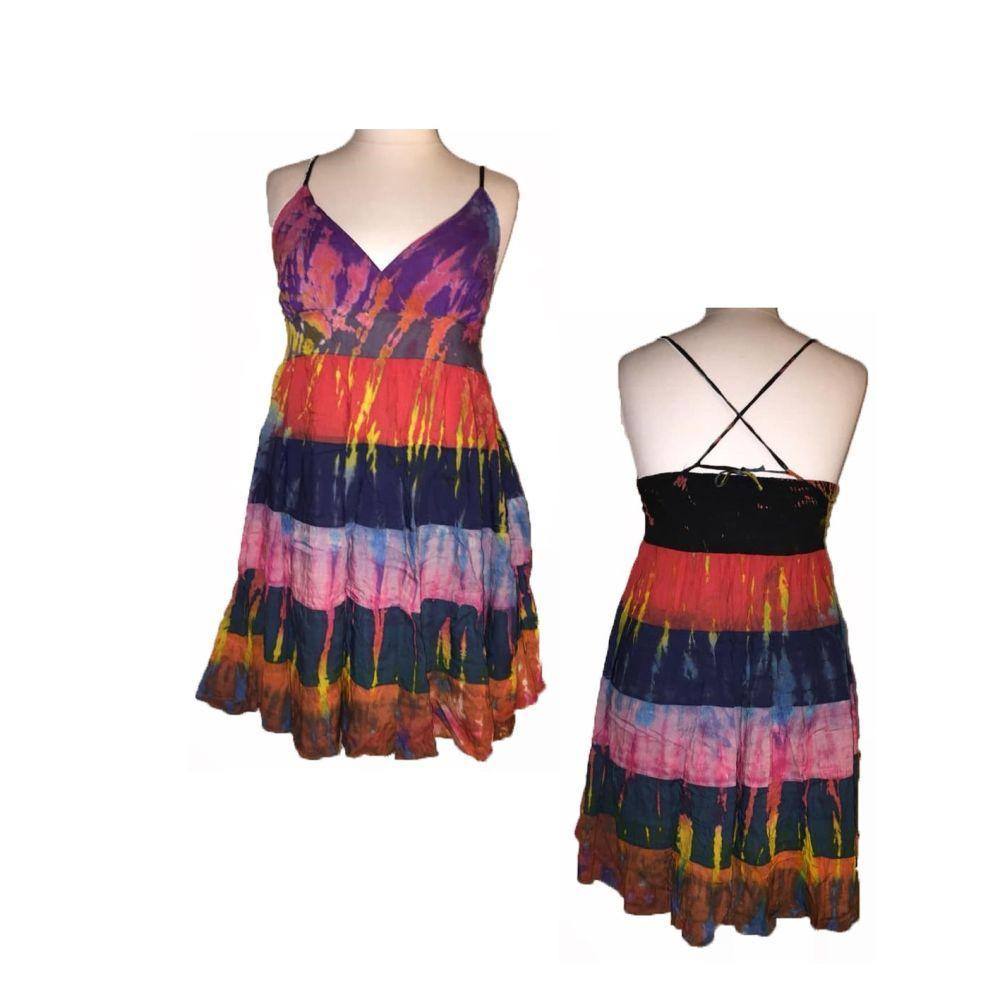 Lovely TARA  tie dye layer strappy dress