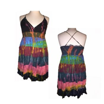Lovely TARA  tie dye layer strappy dress