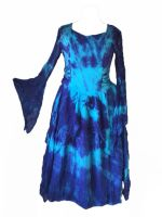 *Gorgeous tie dye faerie skies dress