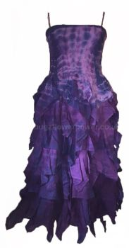 Absolutely stunning Avalon tie dye frill dress