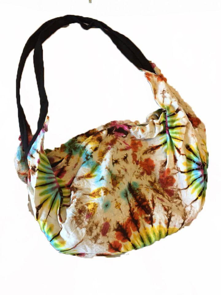 Yoga /festival hippy tie dye  bag