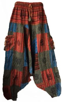 Funky ethnic hippy trousers [will fit plus size]