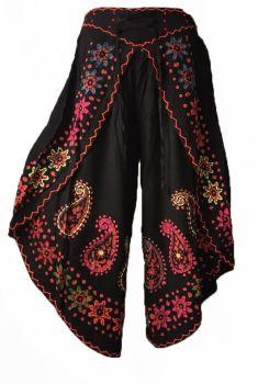 Stunning batik mirrored fishermans trousers 10-16