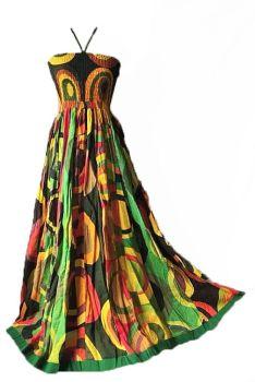 Long halter neck Cara dress