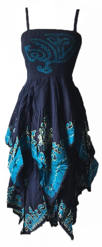 Gorgeous tribal pixie hem Aiyana dress