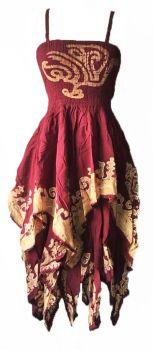 Gorgeous tribal pixie hem Aiyana dress