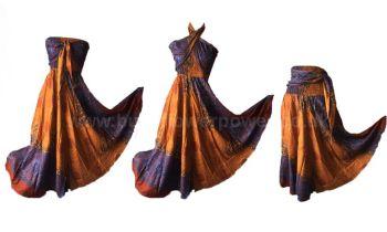 663c1201287 Stunning Thai asymetric skirt or wear as dress