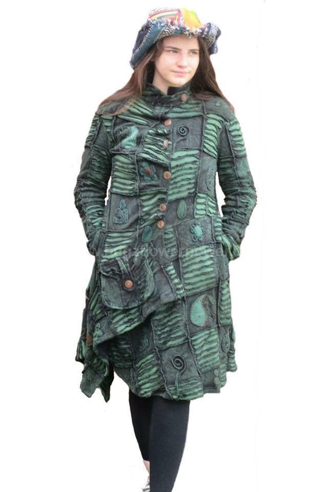 Gorgeous razor cut asymmetric alternative jacket