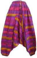 Funky harem cotton trousers