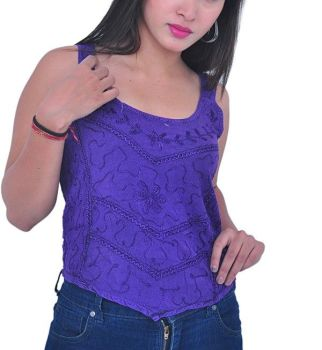 *Pretty embroiderd top