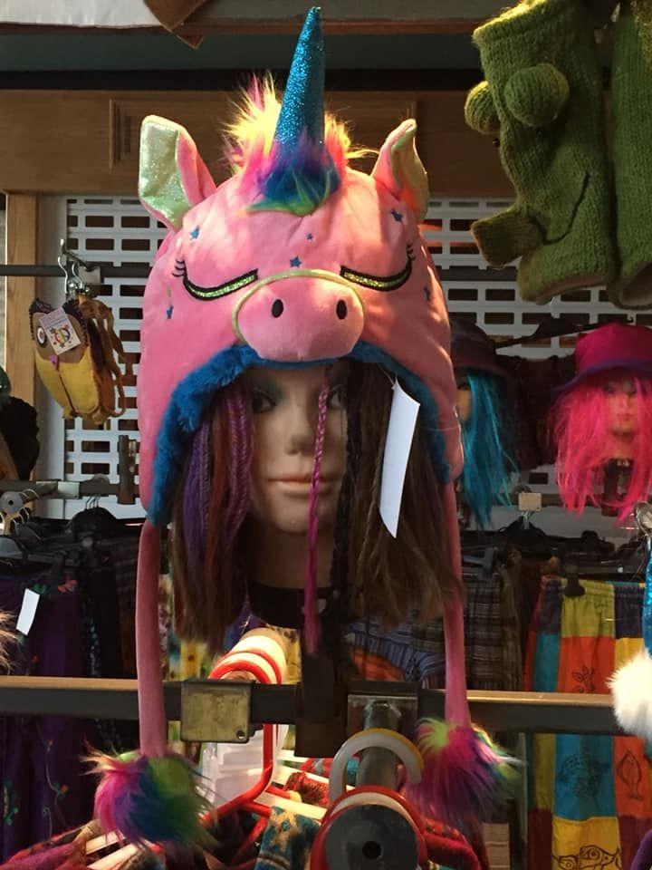 Funky unicorn hat