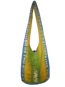 Hippy tie dye shoulder bag