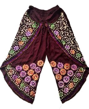 Faux Thai pants with batiq print designs