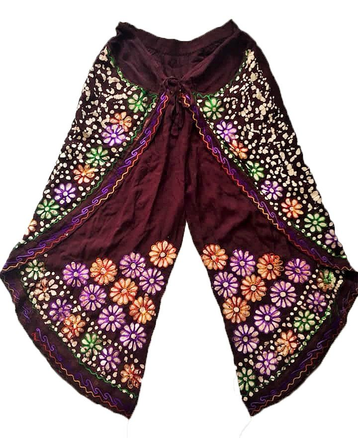 Faux Thai pants with batiq print designs
