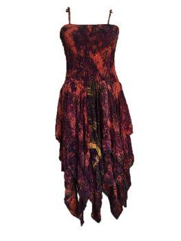 Beautiful silk Tianna faerie dress plus size