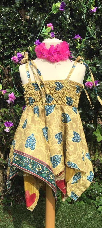 Faery pixie hem dress  [2-3 years]