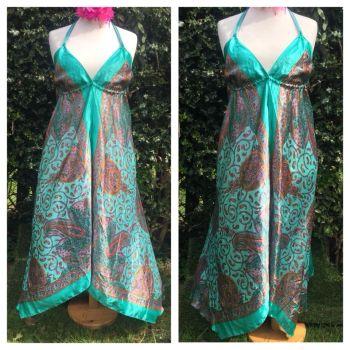 Beautitul long summery boho dress