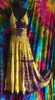 Tie dye hippy dress