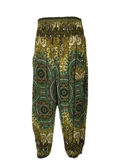 Hippy harem trousers [plus size]