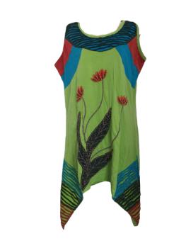 Drip sides hippy dress