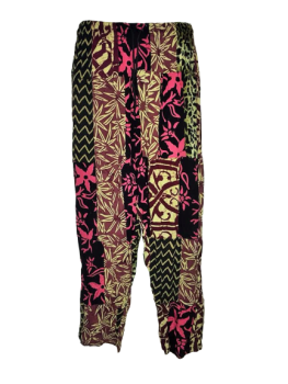 Funky patchwork trousers