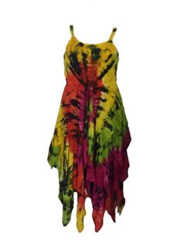 Melodie tie dye corset fae dress