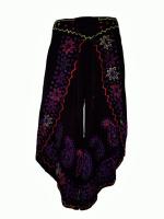 Faux  batik pants