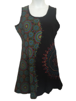 Sleeveless hippy dress