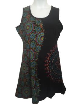 Sleeveless hippy dress