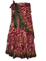 Lovely long wrap around skirt