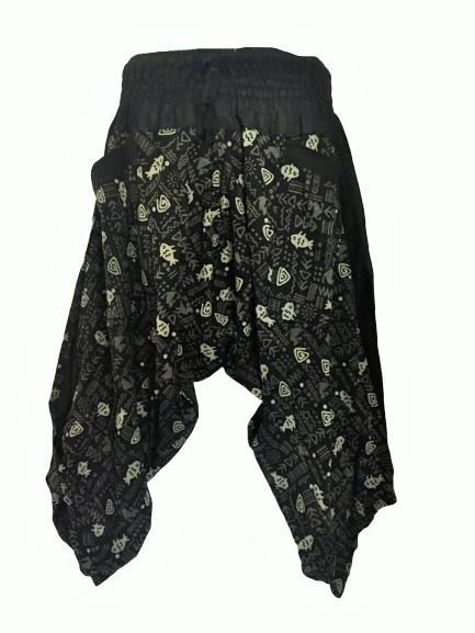 Samurai style pants